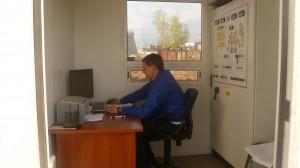 Работа бетонного завода